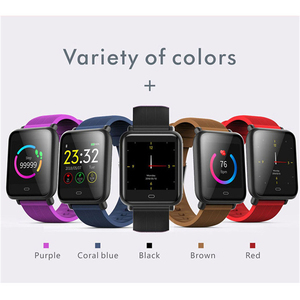 Image 4 - Montre intelligente Q9 pression artérielle fréquence cardiaque moniteur de sommeil Bracelet IP67 étanche Sport Fitness Trakcer montre hommes femmes Smartwatch