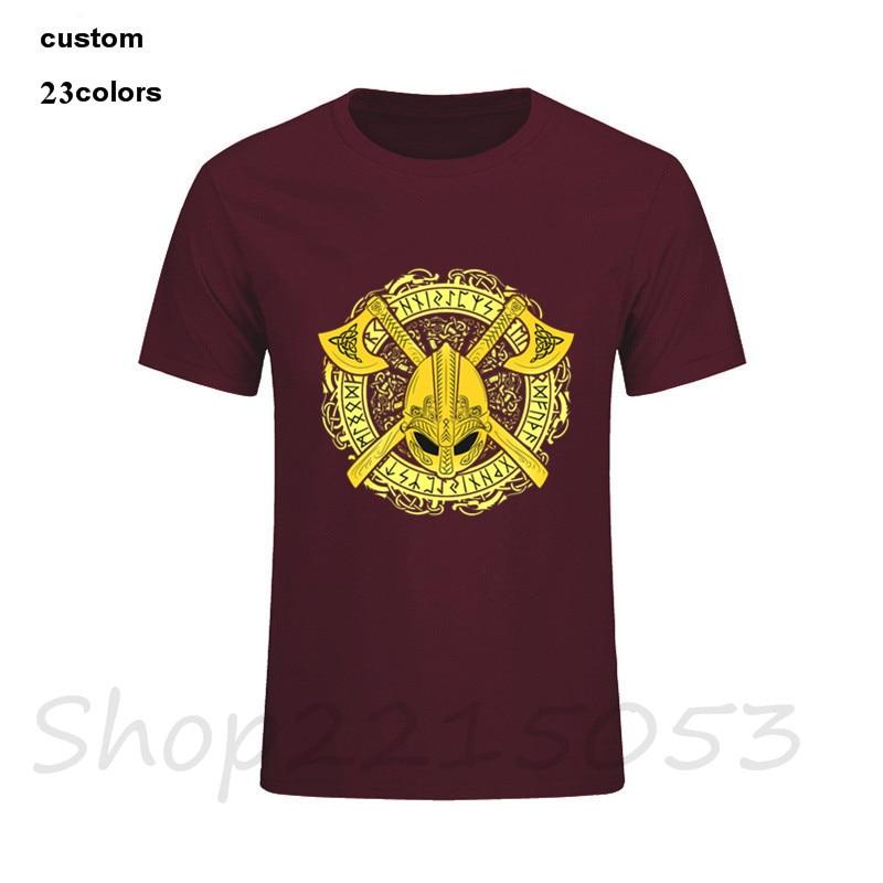 Fear Death Norse Informales Vikingos De 2019 Valhalla Sticker Hombre Cuervo Camisetas Not Warrior tCdxQshr