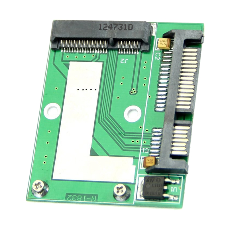Mini NEW PCI-E Half Height MSATA SSD To 7mm 2.5