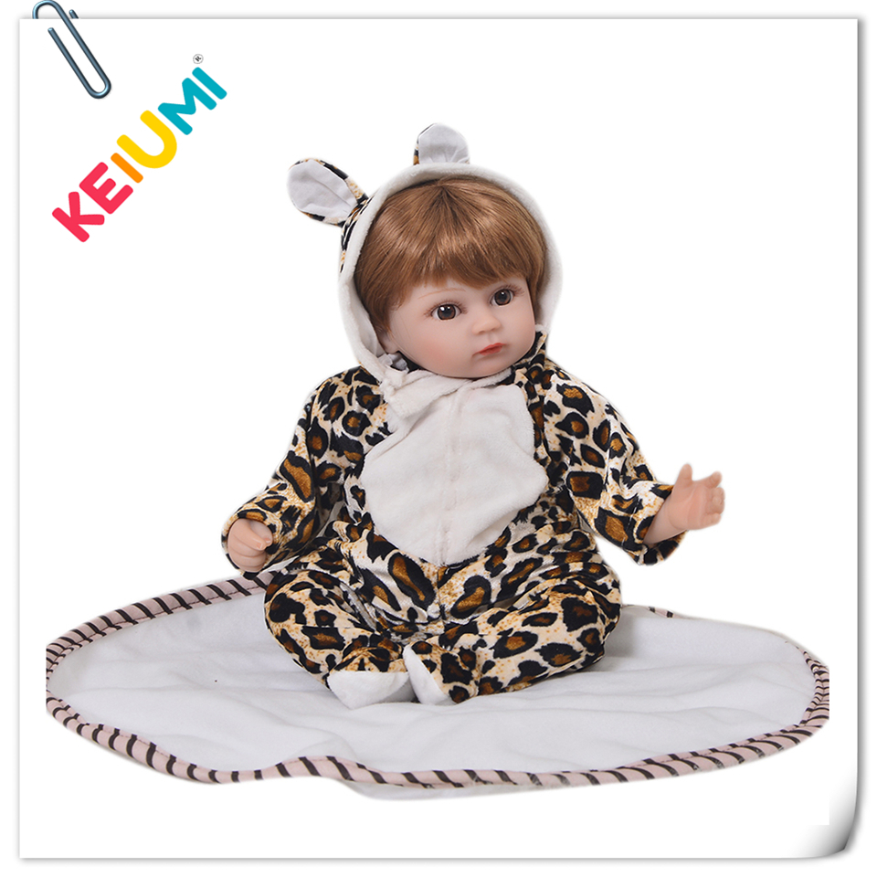 Real Like 17 Inch Reborn Baby Dolls Soft Silicone Baby Simulation Newborn Baby Toddler 43 cm PP Cotton Stuffed Dolls Kids GiftReal Like 17 Inch Reborn Baby Dolls Soft Silicone Baby Simulation Newborn Baby Toddler 43 cm PP Cotton Stuffed Dolls Kids Gift