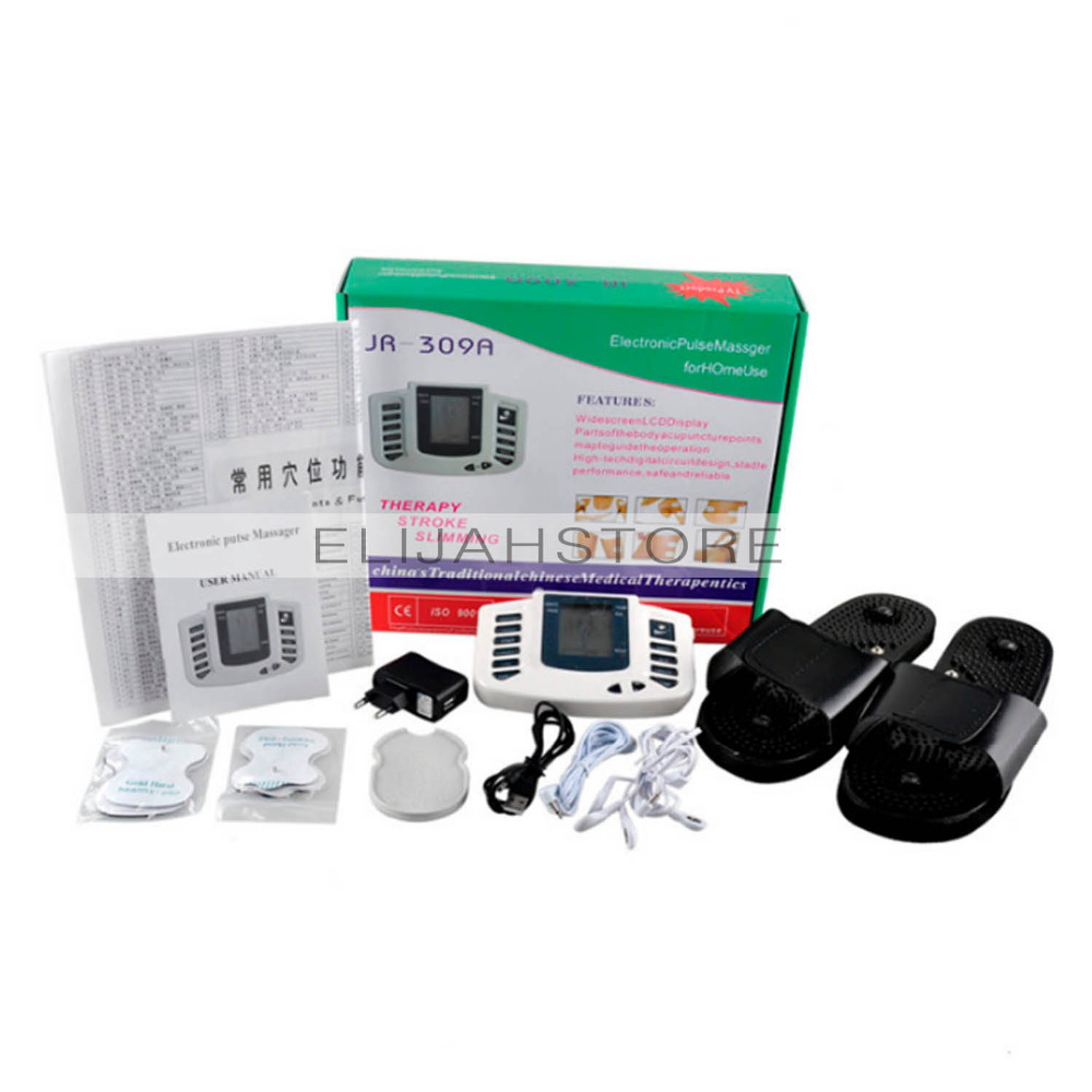 Electrical Stimulator Massager Full Body Relax Muscle Therapy Massage Health Care Slimming Machine Body Care Massager electrical stimulator full body relax muscle therapy massager massage pulse tens acupuncture health care slimming machine 16pads