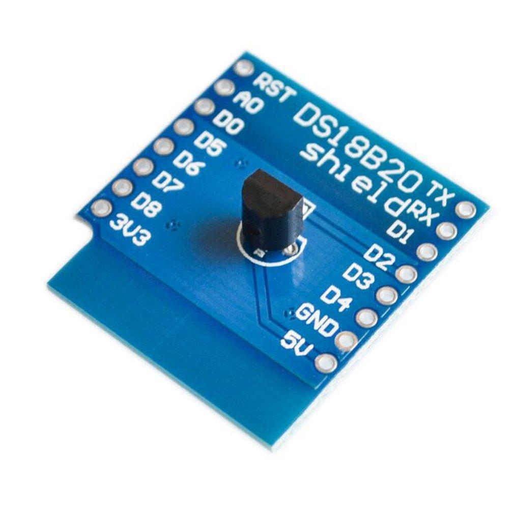 New Products Ds18B20 Temperature Sensor Module Suitable For D1 Mini Module Expansion Board Temperature Sensor Module