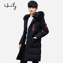 HMILY Winter Jacket Men Thickening Long Hooded Coats Brand Jacket Men Overcoat Youth Student College Warm Parka Men Plus Size hmily winter jacket for men thickening warm coats hooded zipper brand outwear overcoat parkas male plus size xxxxl