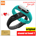 Xiaomi Mi Группа 2 Miband2 Браслет Браслет с Smart Сердечного Ритма Фитнес Сенсорная Панель OLED Экран band2