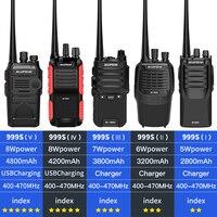 2pcs baofeng bf 888s 2pcs BF-999 שניות פלוס 999 שניות מכשיר הקשר Baofeng 8W / 5W 4200mAh מטען USB Long Distance שני ניידת רדיו דרך שדרג BF-888s CB (4)