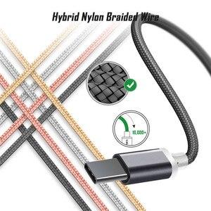 Кабель зарядного устройства USB Type C для Blackview Bv 9700 9600 6800 9500 Oukitel U25 23/18 Wp2 P10000 pro K10 K9 Ulefone DOOGEE USB-C шнур