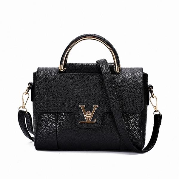 Ragcc Women V Letters Saffiano handbags Women Leather Commuter Office Ring  tote bag Women s Pouch Bolsas Famous Ladys V Flap bag-in Shoulder Bags from  ... c373cd37fc8cb