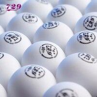 60 мячей 729 Настольный теннисный мяч дружбы 3-star 40 + бесшовный пластиковый ITTF одобренный теннисный мяч tenis de mesa