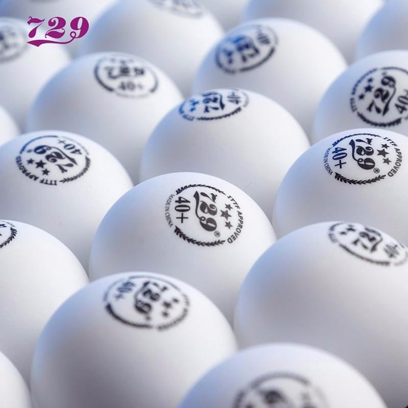 60 balls 729 Friendship table tennis ball 3-star 40+ seamless plastic ITTF Approved ping pong tenis de mesa