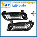 for BMW F25/X3 2010-2014 Xenon White LED Car Daytime Running Light 6W*2 Cr ee High power Headlights DRL Daylight with Turn Light