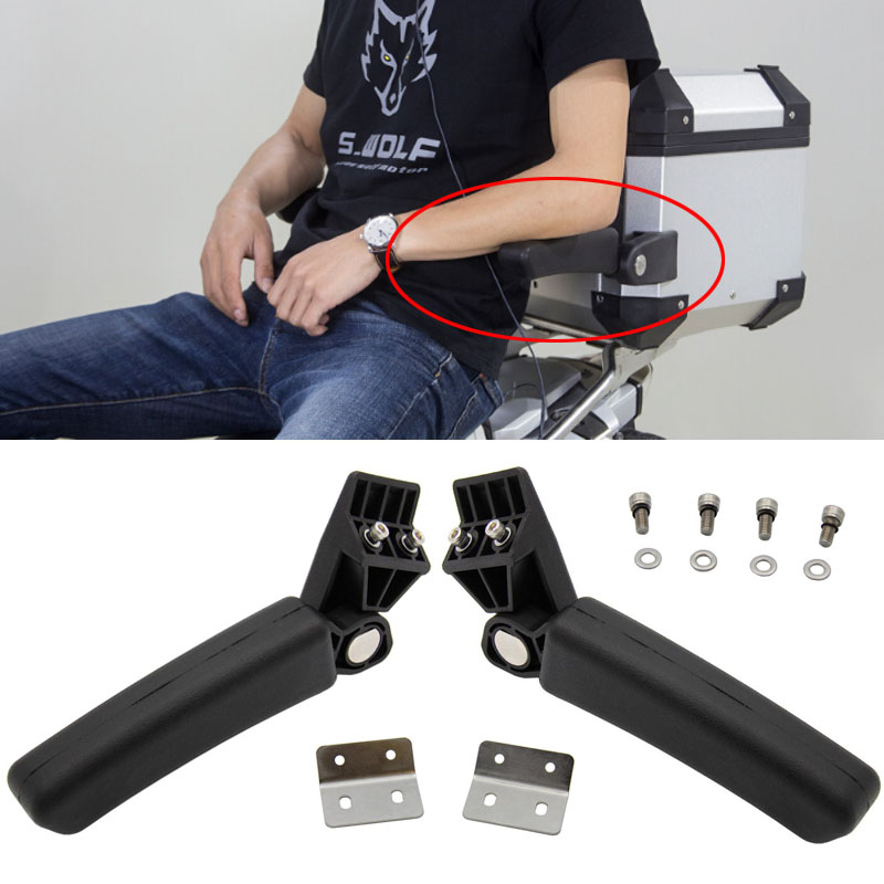 Drilling Required For BMW R1200GS LC Adventure Aluminum Rear Box Passenger Armrest G310 GS F800GS ADV