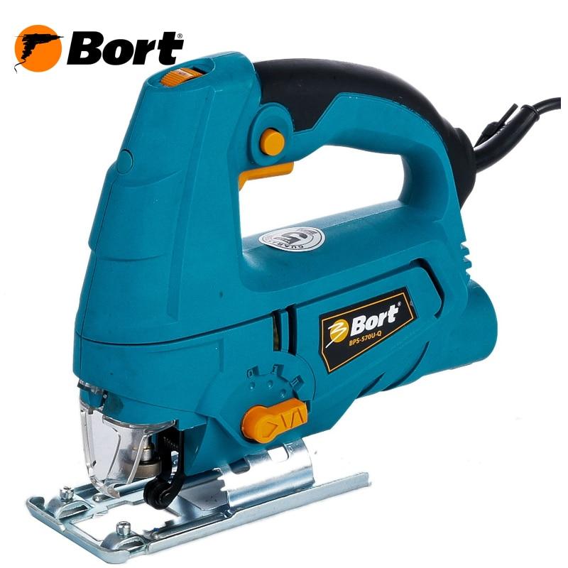 Jig Saw Bort BPS-570U-Q bort bps 500 p 93720315 электрический лобзик blue