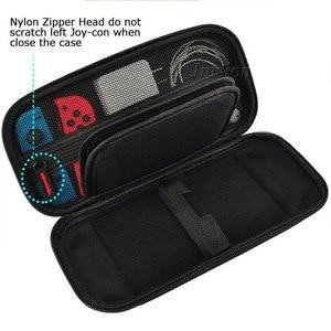Image 2 - อัพเกรด EVA Hard Shell สำหรับ Nintend Switch ขนาดใหญ่กระเป๋าถือแบบพกพาสำหรับ Nintendo สวิทช์คอนโซล NS อุปกรณ์เสริม