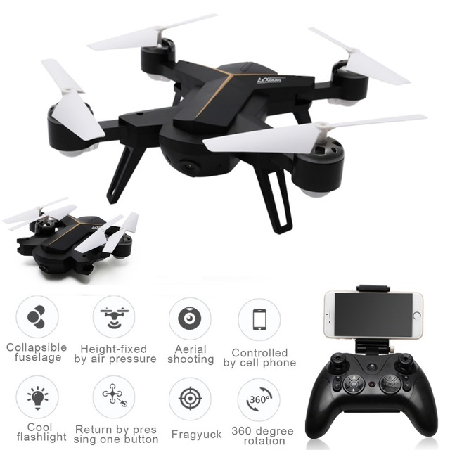 LeXiang 803 RC Mini Drone With Camera 24G 6 Axis WiFi FPV Dron Altitude