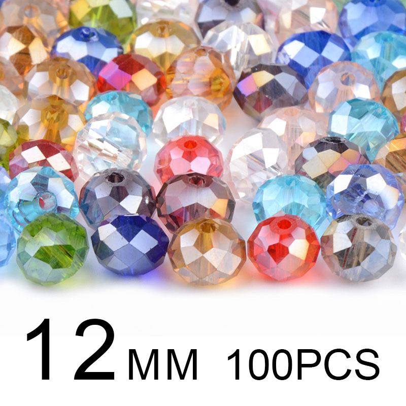 50 or 100 pc SWAROVSKI Mixed Color Bead Lot 4mm 6mm 8mm Crytals and Pearls