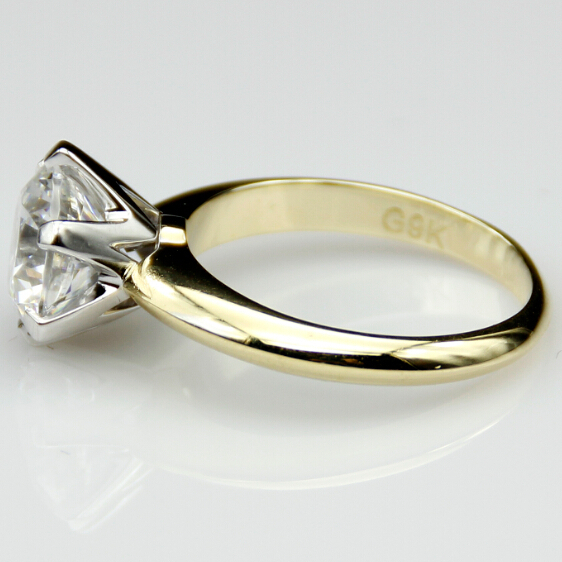 wedding carats oasis diamond two tone rings sets ring