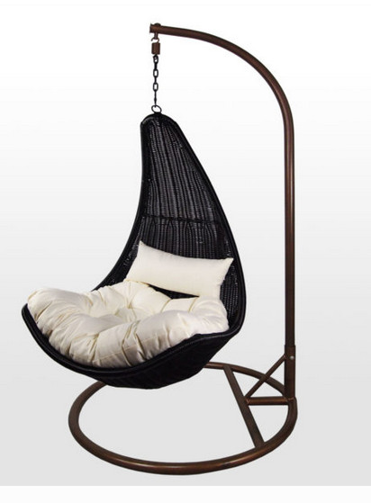 Outdoor wicker rocking chair - Egg Chair Swing Buy Cheap Egg Chair Swing Lots From China Egg Chair