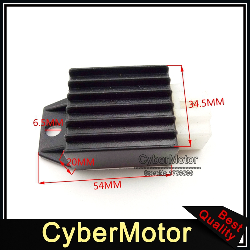 ATV 4 Pin 12V Voltage Regulator Rectifier 50cc 90cc 110cc 125cc 150cc Engine Pit Dirt Bike Motorcycle Quad Buggy Scooter Moped heavy duty manual clutch set for 50cc 70cc 90cc 110cc 125cc dirt pit bike complete clutch set
