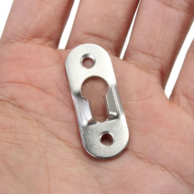 Mayitr cintre pour Photo en métal | 10/20 pièces 44mm x 16mm, attaches en trou de serrure pour cadre Photo, meuble de meubles