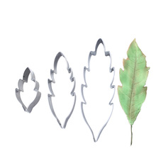 2019 NEW Stainless Steel Chrysanthemum Flower Leaf Clay Cutter Designer DIY Clay Flower Model Poterie Polymer Clay Tools kqh036 5 40 in 1 3d leaf pattern diy polymer clay decoration stick set multicolored