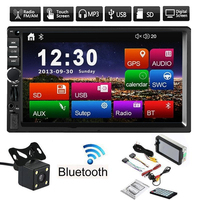 Car Radio Bluetooth USB Autoradio MP5 Player 2 Din Car Stereo Central Multimidia 7 inch Touch Screen Support Rear View Camera
