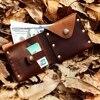 2017 New Arrival Original Design Handmade Genuine Leather Casual Short Wallet 100 Cow Leather Retro Purse