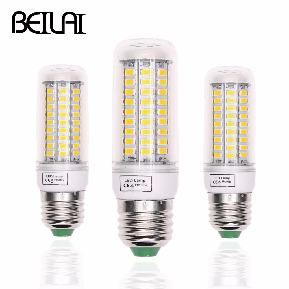 Buy beilai smd 5730 lampada led lamp e27 for Lampada led e14