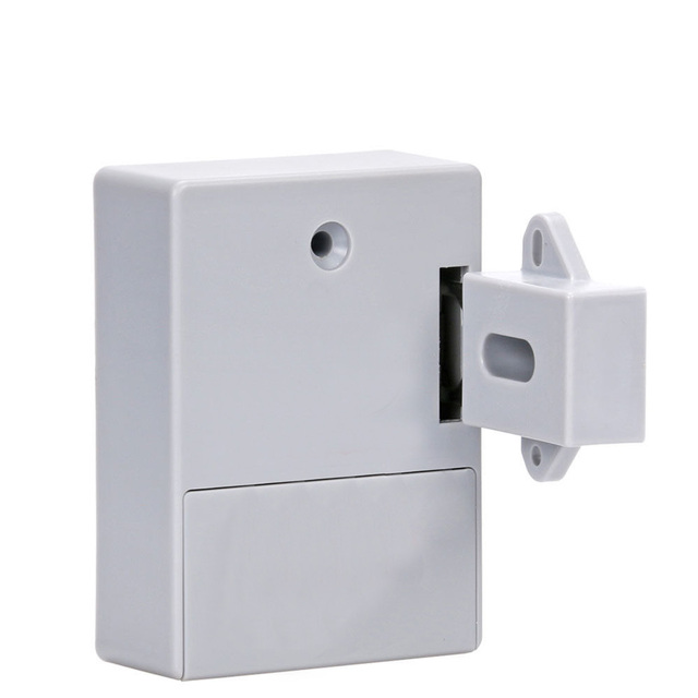 Battery Invisible RFID Electronic Cabinet Locker Door Lock Wardrobe Lock Private 125KHZ EM RFID Drawer Lock