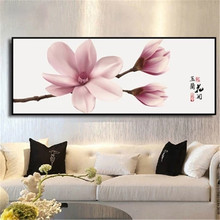 DiamondEmbroidery,China,landscape,scenery,Magnolia flower,5D Full Diamond Painting,Flower Cross Stitch,Diamond Mosaic,Decoration