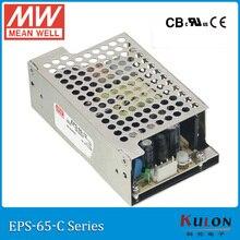 Meanwell EPS 65 יחיד פלט PSU ac dc סגור אספקת חשמל 35W 3.3V 5V 7.5V 12V 15V 24V 36V 48V 8A 3A מיני גודל