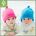 Fashion Autumn Winter Warm Cotton Baby Hat Girl Boy Toddler Infant Kids Caps Brand Candy Color Cute Baby Accessories for 6-36M
