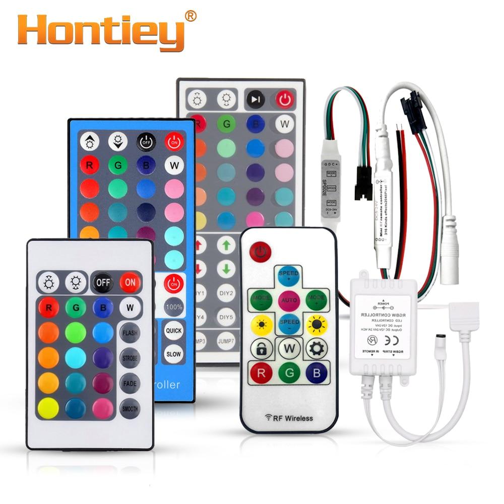 24//44 Key IR Remote Kontroller RGB Controller Fernbedienung Dimmer für LED Strip