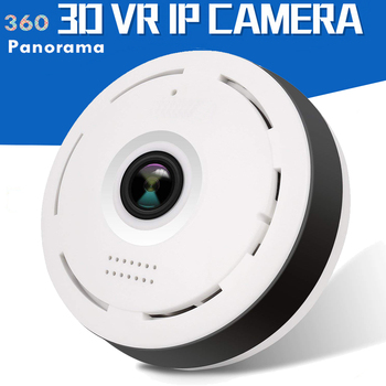besder vr302 360° panoramic camera hd 960p ip camera wi fi two way audio with sd card slot indoor vr security camera wireless 960P Panoramic Camera 360 Wifi Camera IP Fisheye CCTV Mini Camera Wireless Video Camera 3D VR Security IP Card Camara Wide Angle