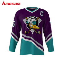 Newest Mighty Ducks Movie Collage 75 USA American V Neck League Ice Hockey Jerseys Stitched