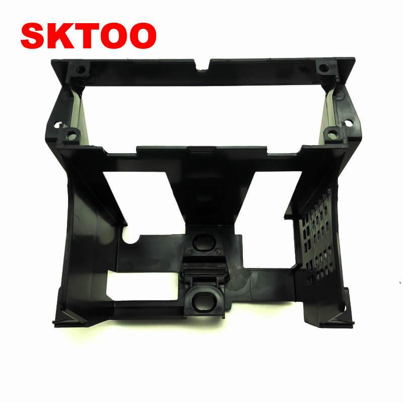 SKTOO для VW 1997-2005 Passat B5 коробка Инструмент центральной CD Frame кронштейн коробки радио отделкой Панель радио кадров монтажный кронштейн