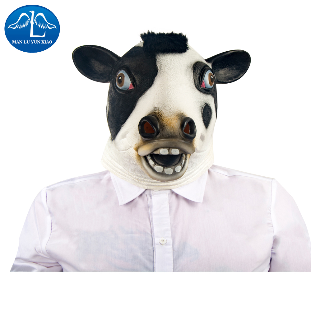 Popular Rubber Cow Mask-Buy Cheap Rubber Cow Mask lots from China ...