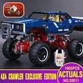 NUEVA lepin 20011 1605 unids técnica vehículos todo terreno de control remoto eléctrico de bloques de construcción de juguetes compatible con 41999