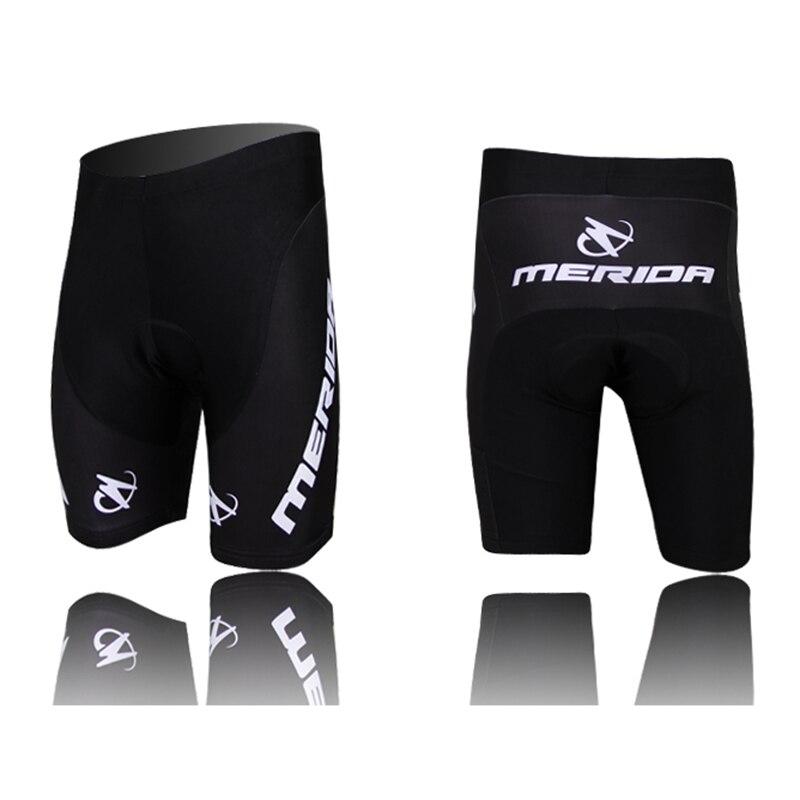 2018 Merida men cycling shorts with 3d gel pad bike shorts Bicicleta Shorts ciclismo quick dry bicycle shorts New Arrival S-5XL