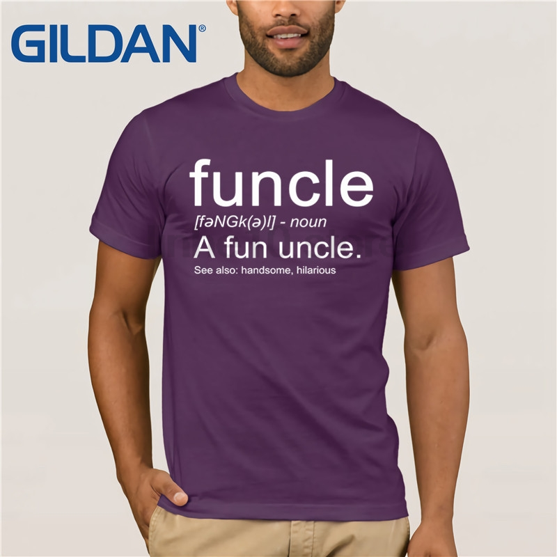 Funcle a Fun Uncle Definition Shirt Funny Novelty Tee T shirt Clothes Popular T Shirt Crewneck 100 Cotton Tees in T Shirts from Men 39 s Clothing