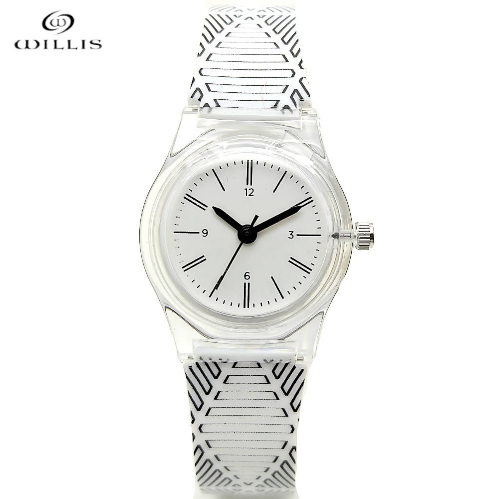 WILLIS Small Round Quartz Women Watch Famous Luxury Brand 2017 Simple Casual Ladies Wrist Watches For Women Children's watches classic simple star women watch men top famous luxury brand quartz watch leather student watches for loves relogio feminino