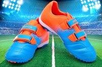 Высокое качество! Дети мальчиков и девочек открытый футбольные бутсы, обувь футбольные бутсы тренировочные кроссовки Детская спортивная о