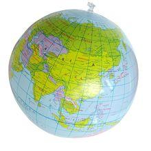 40 см надувной мир Глобус обучающая образовательная географическая игрушка ПВХ Карта воздушный шар пляжный шар детские игрушки надувной глобус игрушка