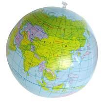 40 см надувной шар мира обучение раньше карта ПВХ пляжный Шар