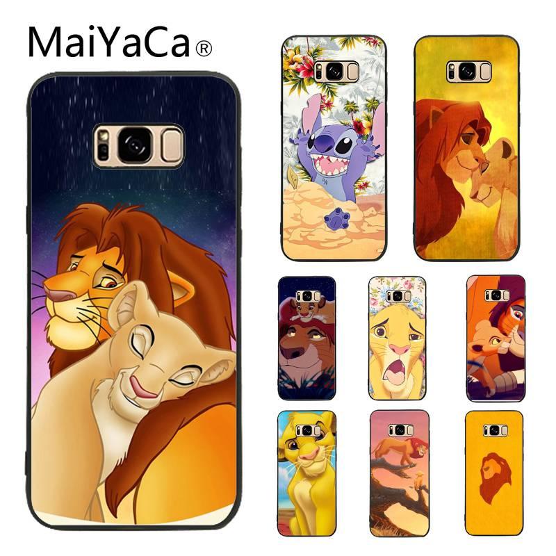 Competent Maiyaca Case Voor Galaxy S9 De Lion King Grumpy Kat Simba Speciale Aanbieding Luxe Zachte Telefoon Case Voor Samsung Galaxy S5 S6 S7 S8 S9 Een Verrijkt En Voedingsstof Voor De Lever En De Nieren