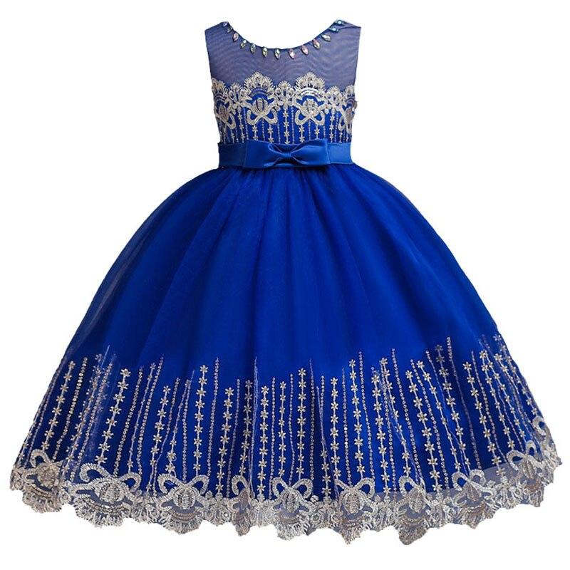 Sequin evening wedding birthday   flower   lace   girl     dresses   for wedding   girls     dress   first communion princess   dress   baby costume