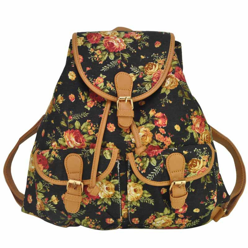 Teenage Girl Floral Backpacks | Cg Backpacks