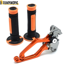For Dirt Bike KTM 125EXC (SIX DAYS) 125SX 125 SX EXC 2005 2006 2007 2008 Brake Clutch Levers CNC Pivot Handle Hand Grips стоимость