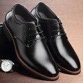Novos Homens Se Vestem Sapatos de Couro Oxford Sapatos Casuais Maré de Moda Masculina Cavalheirismo Homens Oxfords Casual Sapatos Flats Shoes Bonito
