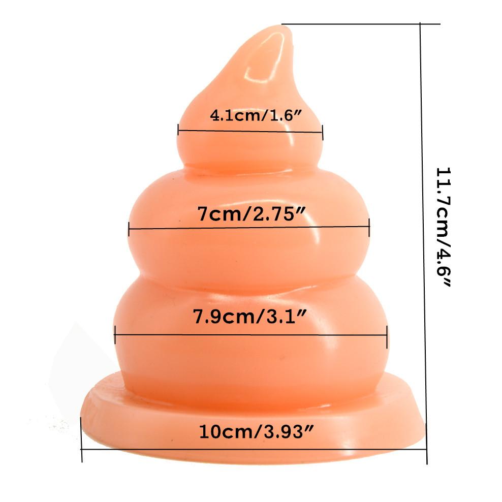 FAAK Anal plug big beads huge anal dildo Fun Shit Gag sucker butt plug Erotic Toys Sex Products anal massage masturbate 2