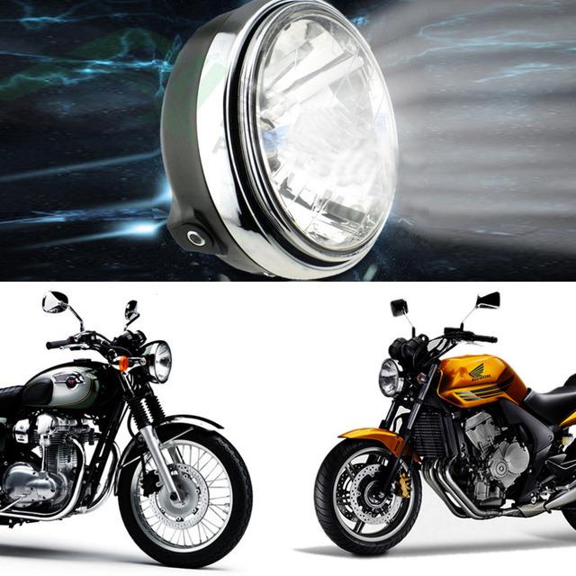 Universal Super brilhante farol da motocicleta conversão CB série da motocicleta acessórios